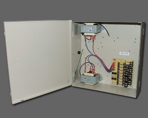 AC 8-2-1 - 8 output fused, 8.4 amp 24VAC power supply