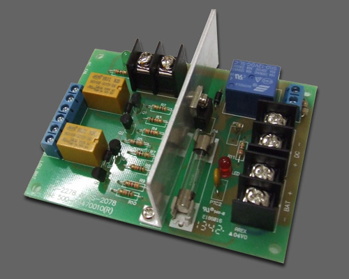 12VDC fire alarm interface board for CCTV power supply